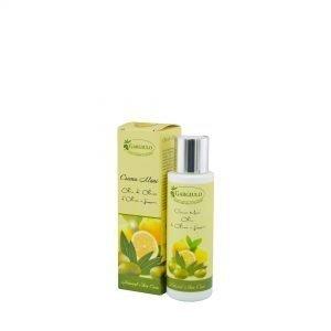 crema mani all'olio d'oliva e limone
