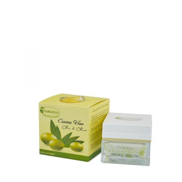 Crema viso all'olio d'oliva