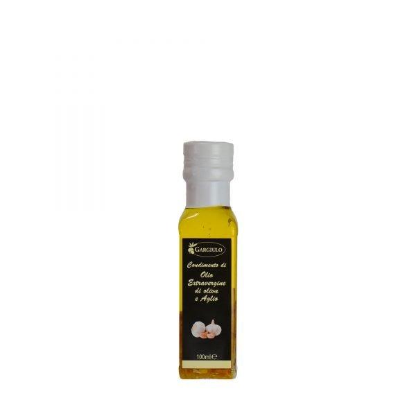 olio extravergine aromatizzato all'aglio 100 ml