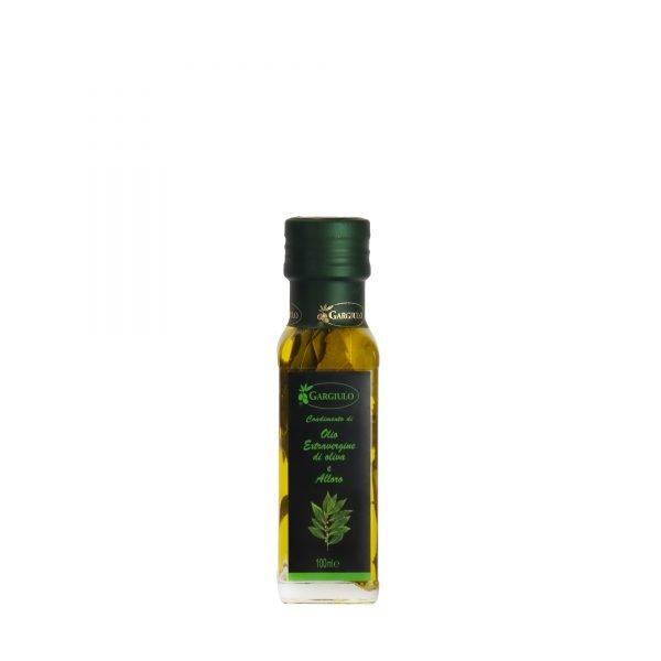 olio extravergine aromatizzato all'alloro 100 ml