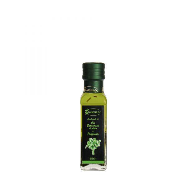Olio extravergine aromatizzato al prezzemolo