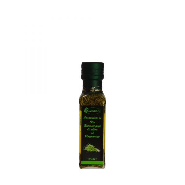 olio extravergine aromatizzato al rosmarino 100 ml