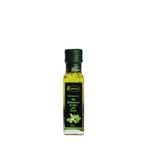 Olio extravergine aromatizzato al salvia 100 ml