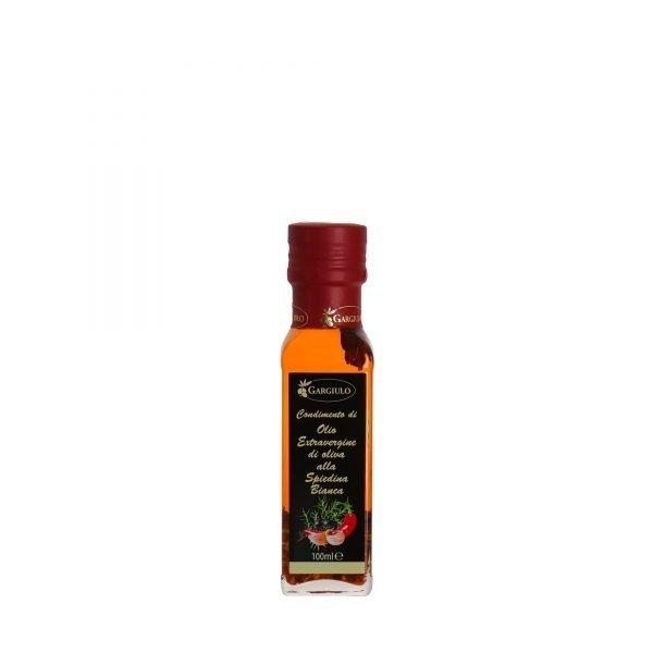 olio extravergine aromatizzato alla spiedina bianca 100 ml