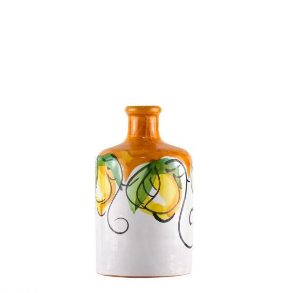 Orcio collezione limoni colore arancione formato cilindro