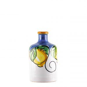 Orcio collezione limoni colore blu formato cilindro