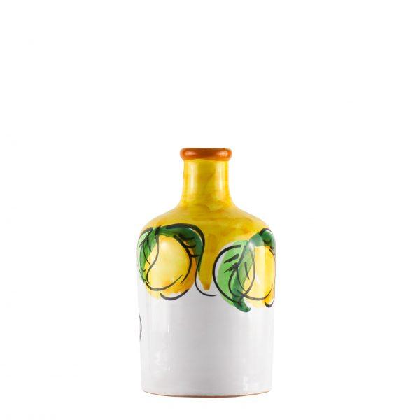 Orcio collezione limoni colore giallo formato cilindro