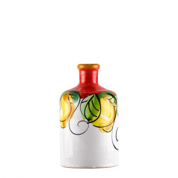 Orcio collezione limoni colore rosso formato cilindro