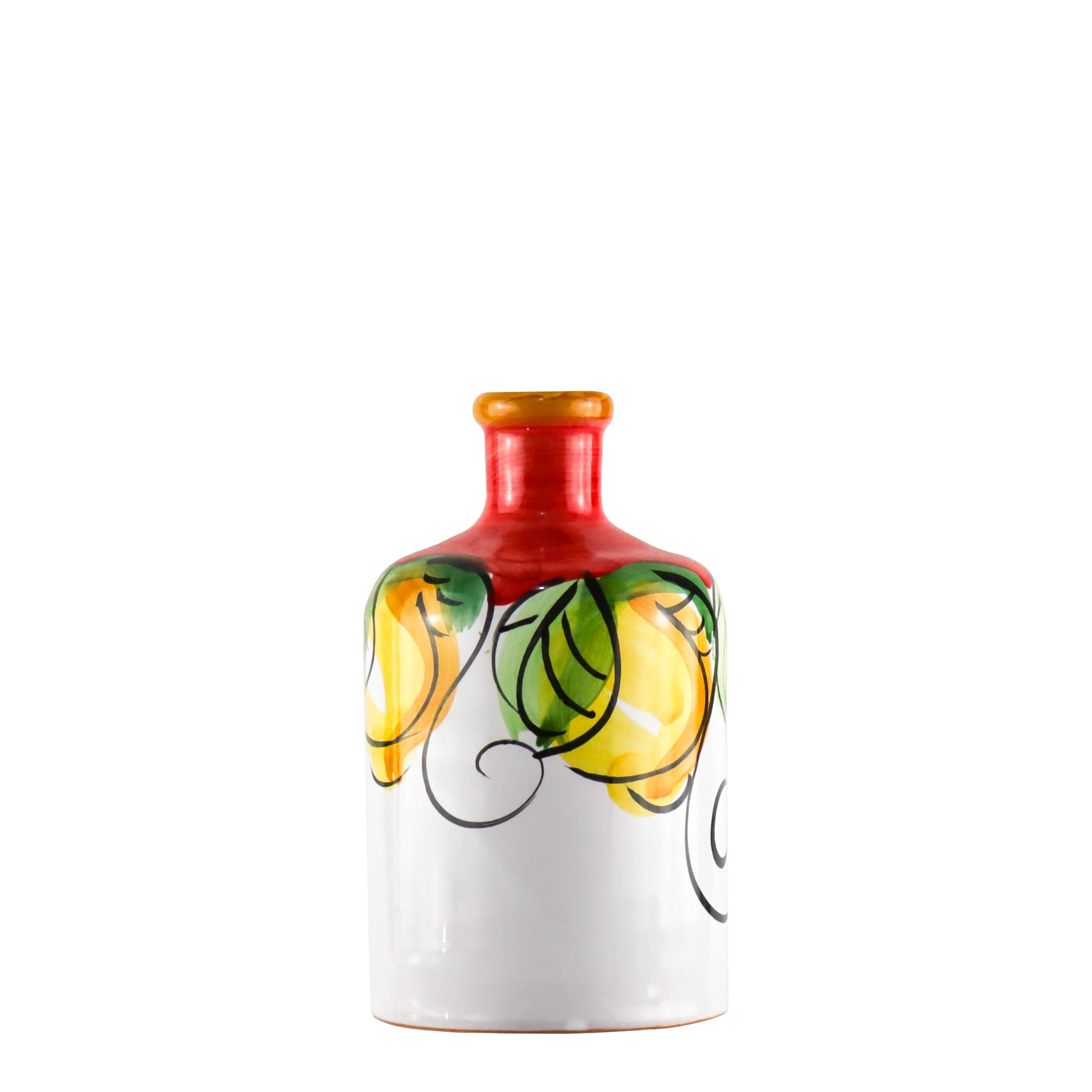 Orcio Limoni rosso con olio extravergine di oliva ...