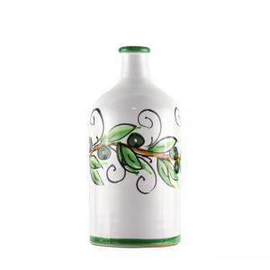 Orcio collezione olive formato cilindro 500ml